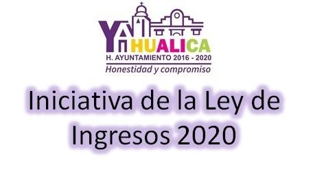 Iniciativa de Ley de Ingresos 2020